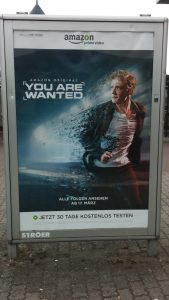 "Filmplakat ""you are wanted"""